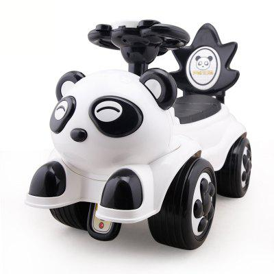 Pandas anti rollover handcart baby cart with music box baby walker toy baby cart anti turn 7665 249740701