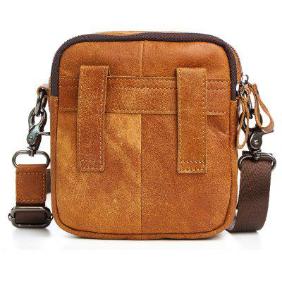 Mens Leather Shoulder BagCrossbody Bags<br>Mens Leather Shoulder Bag<br><br>Closure Type: Zipper<br>Gender: For Men<br>Handbag Size: Mini(&lt;20cm)<br>Handbag Type: Shoulder bag<br>Hardness: Soft<br>Interior: Interior Slot Pocket, Cell Phone Pocket, Interior Compartment<br>Main Material: Genuine Leather<br>Occasion: Versatile<br>Package Contents: 1 x Leather Bag, 1 x Plastic bag.<br>Package size (L x W x H): 15.00 x 16.00 x 7.00 cm / 5.91 x 6.3 x 2.76 inches<br>Package weight: 0.3500 kg<br>Pattern Type: Solid<br>Product size (L x W x H): 14.00 x 15.00 x 6.00 cm / 5.51 x 5.91 x 2.36 inches<br>Product weight: 0.3000 kg<br>Strap Length: 145CM<br>Style: Casual
