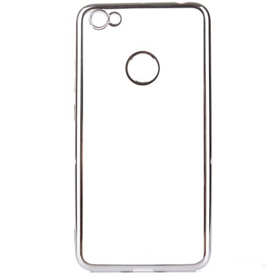 Transparent Back Case for Xiaomi Redmi Note 5A High Version Electroplating TPU Soft Cover Protector
