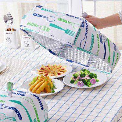 Folding Lid Cover Keep Foods Warm Vegetable Cover Container Aluminum Foil Dishes Kitchen Gadgets