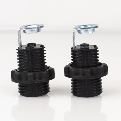 Bulb Connector Lamp Base Bulb Accessory Metalic Plastic E12 2pcs 70 Lighting Accessory 2pcs UL