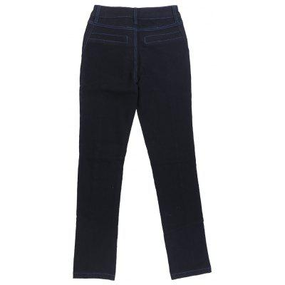 Stretch The  Pencil  JeansJeans<br>Stretch The  Pencil  Jeans<br><br>Closure Type: Zipper Fly<br>Fit Type: Skinny<br>Length: Normal<br>Material: Jeans<br>Package Contents: 1xJeans<br>Pant Style: Pencil Pants<br>Waist Type: Mid<br>Wash: Dark<br>Weight: 0.5100kg