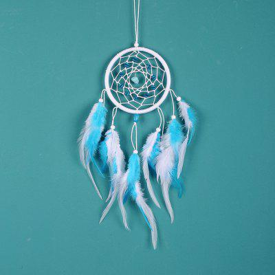 Turchese Dreamcatcher Campanelli eolici Ciondolo Dream Catcher Home Wall Hanging Decor Regalo Regalo