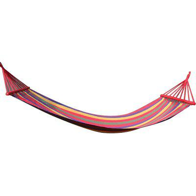 FEIRSH Outdoor Hammock With Wide and Thick Leisure Canvas Swing Camp Indoor Adult Hammock