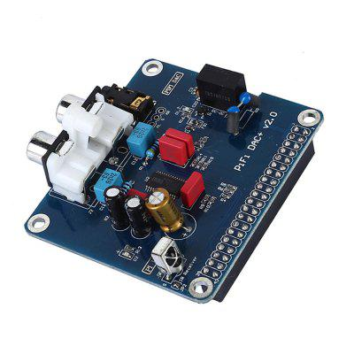 PIFI Digi DAC+HIFI DAC Audio Sound Card Module I2S Interface for Raspberry Pi 3 2 Model B B+Digital Pinboard V2.0 BoardRaspberry Pi<br>PIFI Digi DAC+HIFI DAC Audio Sound Card Module I2S Interface for Raspberry Pi 3 2 Model B B+Digital Pinboard V2.0 Board<br><br>Package size: 5.00 x 5.00 x 5.00 cm / 1.97 x 1.97 x 1.97 inches<br>Package weight: 0.0500 kg<br>Packing List: 1 x HIFI DAC<br>Type: pifi