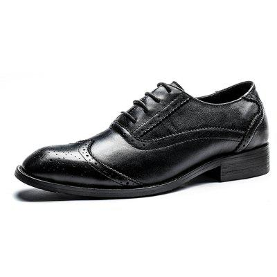 Four Seasons First Layer of Leather Bottom Rubber Business ShoesFormal Shoes<br>Four Seasons First Layer of Leather Bottom Rubber Business Shoes<br><br>Available Size: 39 40 41 42 43 44<br>Closure Type: Lace-Up<br>Embellishment: Fur<br>Gender: For Men<br>Occasion: Dress<br>Outsole Material: Rubber<br>Package Contents: 1xshoes(pair)<br>Pattern Type: Solid<br>Season: Summer, Winter, Spring/Fall<br>Toe Shape: Round Toe<br>Toe Style: Closed Toe<br>Upper Material: Full Grain Leather<br>Weight: 1.6896kg