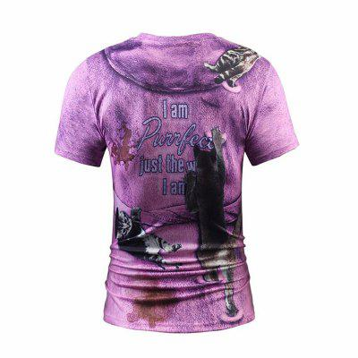 Street Fashion Personality and Creative Fake Two 3D Digital Printed T-ShirtsMens T-shirts<br>Street Fashion Personality and Creative Fake Two 3D Digital Printed T-Shirts<br><br>Collar: Round Neck<br>Material: Polyester<br>Package Contents: 1xt-shirts<br>Pattern Type: Print<br>Sleeve Length: Short Sleeves<br>Style: Fashion<br>Weight: 0.2000kg