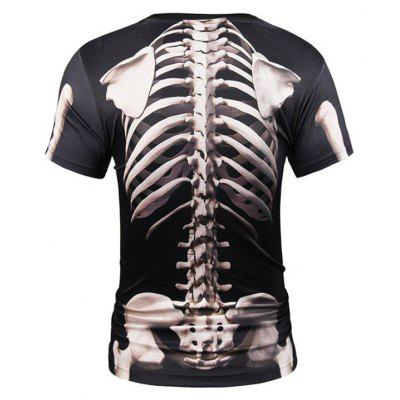 Street Fashion Personality and Creative Skull 3D Printed T-Shirt Hot StyleMens T-shirts<br>Street Fashion Personality and Creative Skull 3D Printed T-Shirt Hot Style<br><br>Collar: Round Neck<br>Material: Polyester<br>Package Contents: 1xT-shirt<br>Pattern Type: Print<br>Sleeve Length: Short Sleeves<br>Style: Fashion<br>Weight: 0.2000kg