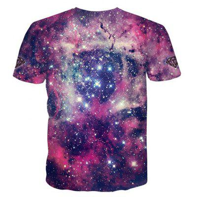 Street Fashion Personality and Creative Star Cat 3D Digital Print T-Shirt Hot StyleMens T-shirts<br>Street Fashion Personality and Creative Star Cat 3D Digital Print T-Shirt Hot Style<br><br>Collar: Round Neck<br>Material: Polyester<br>Package Contents: 1xT-shirt<br>Pattern Type: Print<br>Sleeve Length: Short Sleeves<br>Style: Fashion<br>Weight: 0.2000kg