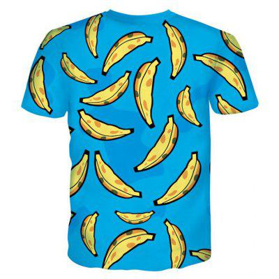 Street Fashion Personality Wacky Creative Impact Color Banana 3D Digital Print T-Shirt Hot StyleMens T-shirts<br>Street Fashion Personality Wacky Creative Impact Color Banana 3D Digital Print T-Shirt Hot Style<br><br>Collar: Round Neck<br>Material: Polyester<br>Package Contents: 1xT-shirt<br>Pattern Type: Print<br>Sleeve Length: Short Sleeves<br>Style: Fashion<br>Weight: 0.2000kg