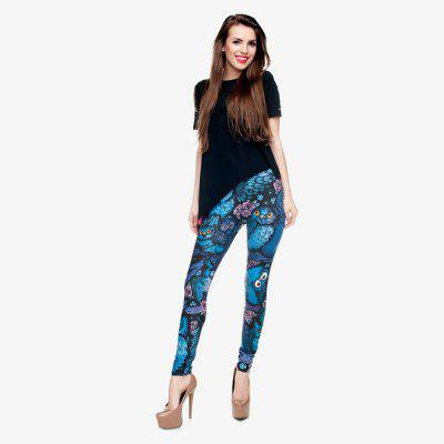 Fashion Night Owl Full Printing Pants Ladies Fitness Leggings Yoga PantsPants<br>Fashion Night Owl Full Printing Pants Ladies Fitness Leggings Yoga Pants<br><br>Elasticity: Super-elastic<br>Material: Polyester<br>Package Contents: 1 x Leggings<br>Pattern Type: Animal, Print<br>Style: Fashion<br>Waist Type: Mid<br>Weight: 0.1500kg