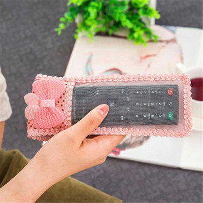Bow Cloth Cloth Remote Control Sets TV Air Conditioning Remote Control Protection Dust Cover 249567401