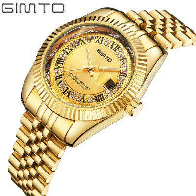 GIMTO Brand Gold Men Watch Luxury Roman Quartz Business Male Watches Steel Clock Waterproof Classic Wristwatch RelogioMens Watches<br>GIMTO Brand Gold Men Watch Luxury Roman Quartz Business Male Watches Steel Clock Waterproof Classic Wristwatch Relogio<br><br>Band material: Stainless Steel<br>Case material: Alloy<br>Clasp type: Butterfly clasp<br>Display type: Analog<br>Movement type: Quartz watch<br>Package Contents: 1xWatch<br>Package size (L x W x H): 26.00 x 4.20 x 1.50 cm / 10.24 x 1.65 x 0.59 inches<br>Package weight: 0.1410 kg<br>Product size (L x W x H): 24.50 x 4.00 x 1.30 cm / 9.65 x 1.57 x 0.51 inches<br>Product weight: 0.1310 kg<br>Shape of the dial: Round<br>Special features: Day<br>Watch mirror: Mineral glass<br>Watch style: Fashion, Business, Casual<br>Watches categories: Men,Male table<br>Water resistance: Life water resistant