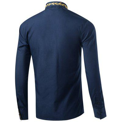 Mens Casual Shirts Long Sleeve Slim Fit shirtMens Shirts<br>Mens Casual Shirts Long Sleeve Slim Fit shirt<br><br>Collar: Turn-down Collar<br>Fabric Type: Polyester<br>Material: Cotton Blends<br>Package Contents: 1XShirt<br>Shirts Type: Casual Shirts<br>Sleeve Length: Full<br>Weight: 0.2200kg