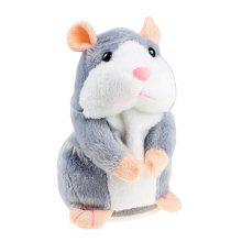 Mimicry Talking Hamster Repeats What You Say The Cute Plush Animal Toy Electronic Hamster Mouse