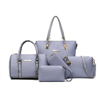 El nuevo Serpentine Mother Bag Five Piece Fashion Ladies Bolso 5pcs