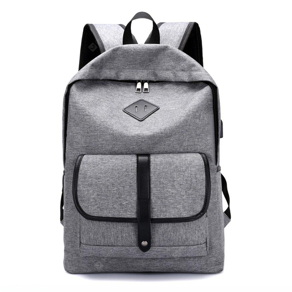 Male Junior High School Students Travel Backpack