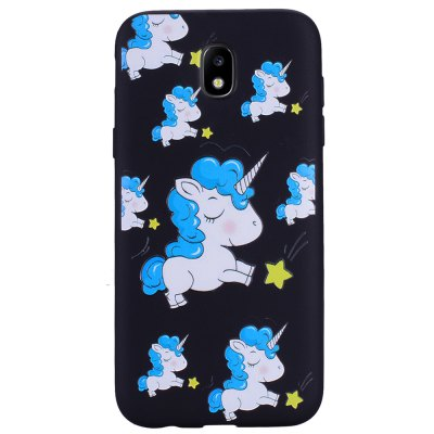 Case For Samsung Galaxy J7 2017 J730 Eurasian Unicorn TPU Mobile Phone Case