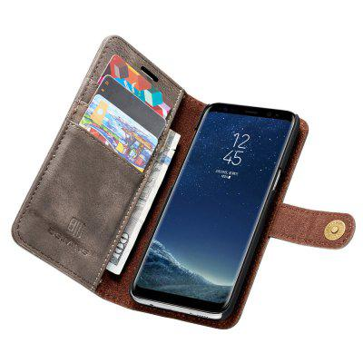 For Samsung Galaxy S8 Plus Clamshell Phone Shell Card Leather Phone CaseFor Samsung Galaxy S8 Plus Clamshell Phone Shell Card Leather Phone Case<br><br>Compatible with: Samsung Galaxy S8 Plus<br>Features: Vertical Top Flip Case, Back Cover, Full Body Cases, Cases with Stand, With Credit Card Holder<br>For: Samsung Mobile Phone<br>KL: 5A53-54<br>Material: Genuine Leather, TPU, PC<br>Package Contents: 1 x Phone Case<br>Package size (L x W x H): 17.00 x 7.00 x 1.00 cm / 6.69 x 2.76 x 0.39 inches<br>Package weight: 0.1000 kg<br>Style: Novelty