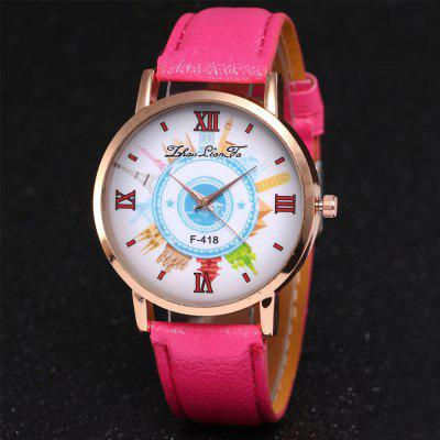 ZhouLianFa New Outdoor High-End Rose Gold Dial Lychee Pattern Building Quartz WatchWomens Watches<br>ZhouLianFa New Outdoor High-End Rose Gold Dial Lychee Pattern Building Quartz Watch<br><br>Band material: Leather<br>Band size: 23 x 2cm<br>Brand: ZhouLianFa<br>Case material: Alloy<br>Clasp type: Pin buckle<br>Dial size: 4 x 4 x 1cm<br>Display type: Analog<br>Movement type: Quartz watch<br>Package Contents: 1 x Watch<br>Package size (L x W x H): 12.00 x 8.00 x 9.00 cm / 4.72 x 3.15 x 3.54 inches<br>Package weight: 0.0600 kg<br>Product size (L x W x H): 23.00 x 4.00 x 1.00 cm / 9.06 x 1.57 x 0.39 inches<br>Product weight: 0.0300 kg<br>Shape of the dial: Round<br>Watch mirror: Mineral glass<br>Watch style: Casual, Fashion, Classic, Business, Retro, Lovely, Outdoor Sports, Childlike<br>Watches categories: Women,Female table<br>Water resistance: No