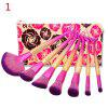 Makeup Travel Collection Brushes Kit Shadow Brush Professional Cosmetic Powder Tools - AS THE PICTURE