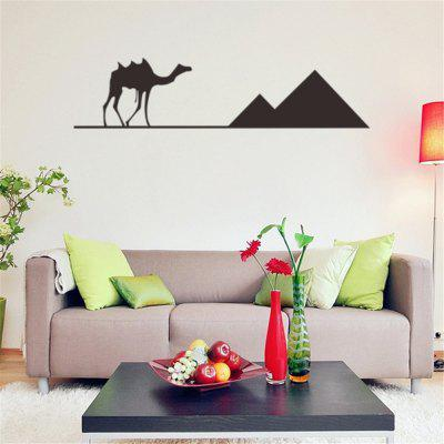 2691 Desert Camel Personality Living Room Bedroom TV Background Decorative Wall StickerWall Stickers<br>2691 Desert Camel Personality Living Room Bedroom TV Background Decorative Wall Sticker<br><br>Art Style: Plane Wall Stickers, Toilet Stickers<br>Effect Size (L x W): 57 x 14 cm<br>Function: Decorative Wall Sticker<br>Layout Size (L x W): 14 x 5 cm<br>Material: Vinyl(PVC), Paper<br>Package Contents: 1 x wall sticker, 1 x transfer sheet<br>Package size (L x W x H): 14.00 x 5.00 x 5.00 cm / 5.51 x 1.97 x 1.97 inches<br>Package weight: 0.2000 kg<br>Product size (L x W x H): 57.00 x 14.00 x 0.01 cm / 22.44 x 5.51 x 0 inches<br>Product weight: 0.1500 kg<br>Quantity: 1<br>Sizes: Others<br>Subjects: Letter,Leisure,Flower,Words / Quotes<br>Suitable Space: Living Room,Bedroom,Office,Kids Room,Corridor,Kids Room,Study Room / Office<br>Type: Plane Wall Sticker