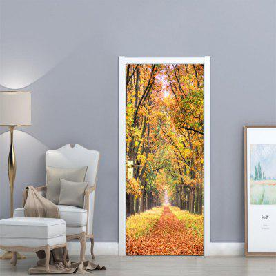 3D Floral/Botanical Landscape Door Stickers PVC Trees Forest Leaves Door Decals for Living Room Home DecoWall Stickers<br>3D Floral/Botanical Landscape Door Stickers PVC Trees Forest Leaves Door Decals for Living Room Home Deco<br><br>Art Style: Plane Wall Stickers, Toilet Stickers<br>Color Scheme: Multicolor<br>Effect Size (L x W): 77 x 200 cm<br>Function: Decorative Wall Sticker, 3D Effect<br>Layout Size (L x W): 38.5 x 200 x 2cm<br>Material: Vinyl(PVC)<br>Package Contents: 1 x Door Sticker<br>Package size (L x W x H): 40.00 x 4.00 x 4.00 cm / 15.75 x 1.57 x 1.57 inches<br>Package weight: 0.4500 kg<br>Quantity: 1<br>Sizes: Others<br>Subjects: Botanical,Landscape,3D<br>Suitable Space: Bedroom,Dining Room,Corridor,Kids Room,Study Room / Office<br>Type: Plane Wall Sticker