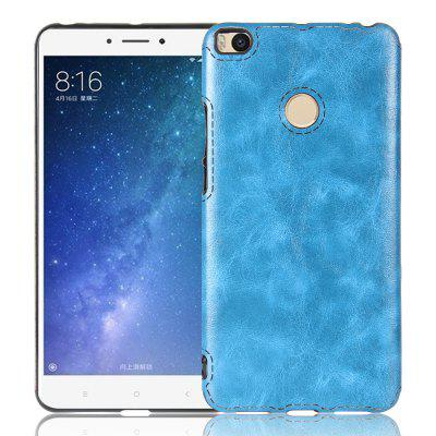 Crazy Horse Pattern PU Leather Soft TPU Back Case for Xiaomi Mi Max 2