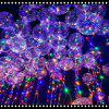 Powered By Button Batteries Led Balloon Air Balloon String Lights Round Bubble Helium Balloons Kids Toy Wedding Party - COLORFUL