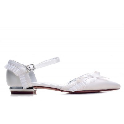 5047-6 Womens Shoes Wedding ShoesWomens Flats<br>5047-6 Womens Shoes Wedding Shoes<br><br>Available Size: 36 37 38 39 40 41 42 43<br>Closure Type: Slip-On<br>Embellishment: Metal<br>Flat Type: Ballet Flats<br>Gender: For Women<br>Heel Height: 1.5CM<br>Heel Height Range: Flat(0-0.5)<br>Insole Material: PU<br>Lining Material: PU<br>Occasion: Wedding<br>Outsole Material: Rubber<br>Package Contents: 1 x Shoes (Pair)<br>Package size (L x W x H): 32.00 x 13.00 x 10.00 cm / 12.6 x 5.12 x 3.94 inches<br>Package weight: 0.6000 kg<br>Pattern Type: Floral<br>Season: Spring/Fall, Winter, Summer<br>Shoe Width: Medium(B/M)<br>Toe Shape: Pointed Toe<br>Toe Style: Closed Toe<br>Upper Material: Satin