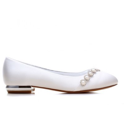 5049-5 Womens Shoes Wedding ShoesWomens Flats<br>5049-5 Womens Shoes Wedding Shoes<br><br>Available Size: 36 37 38 39 40 41 42 43 44<br>Closure Type: Slip-On<br>Embellishment: Metal<br>Flat Type: Ballet Flats<br>Gender: For Women<br>Heel Height: 1.5CM<br>Heel Height Range: Flat(0-0.5)<br>Insole Material: PU<br>Lining Material: PU<br>Occasion: Wedding<br>Outsole Material: Rubber<br>Package Contents: 1 x Shoes (Pair)<br>Package size (L x W x H): 32.00 x 13.00 x 10.00 cm / 12.6 x 5.12 x 3.94 inches<br>Package weight: 0.6000 kg<br>Pattern Type: Floral<br>Season: Spring/Fall, Winter, Summer<br>Shoe Width: Medium(B/M)<br>Toe Shape: Round Toe<br>Toe Style: Closed Toe<br>Upper Material: Satin