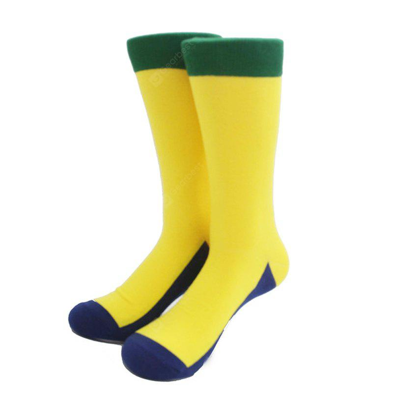 Fashion Color Socks Women'S Men Play with Cotton Casual Stockings