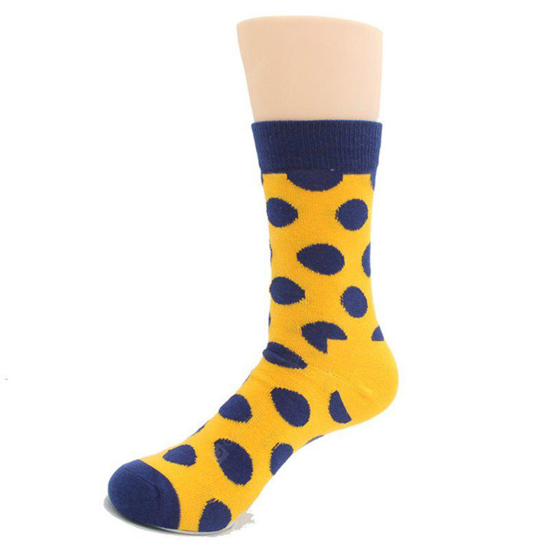 Round Point Cotton Socks Day School Wind Lady of The Long Tube Socks