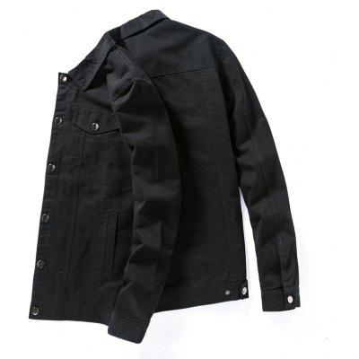 Mens Slim Cotton Collar Shirt JacketMens Jackets &amp; Coats<br>Mens Slim Cotton Collar Shirt Jacket<br><br>Clothes Type: Jackets<br>Collar: Turn-down Collar<br>Material: Cotton Blends<br>Package Contents: 1 x jacket<br>Season: Spring, Summer, Winter<br>Shirt Length: Regular<br>Sleeve Length: Long Sleeves<br>Style: Casual<br>Weight: 0.8000kg