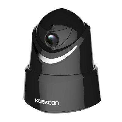 KEEKOON 1080P Wireless/Wired IP Camera Baby Monitor with Two-Way Talk Pan/Tilt Night VisionIP Cameras<br>KEEKOON 1080P Wireless/Wired IP Camera Baby Monitor with Two-Way Talk Pan/Tilt Night Vision<br><br>Compatible Operation Systems: Windows 7,Windows 8,Windows 10,Mac OS,Android,IOS<br>FOV: 110 degrees<br>IP camera performance: Interphone, Support video control, Night Vision, Motion Detection, Remote Control, Screenshot, Real-time video capture and recording, Backlight Compensation, White Balance<br>Language: English,French,Spanish,German,Japanese,Chinese,Simplified/TraditionalChinese<br>Maximum Monitoring Range: 10-15 METER<br>Model: KK005<br>Motion Detection Distance: 5-10<br>Operate Temperature (?): -10 to +50 °C (+14 to +122 °F)<br>Package Contents: 1 x HD IP Camera,1 x Power Adapter,1 x Network Cable,1 x CD,1 x Mounting bracket,1 x Bag of Screws,1 x Multi-language instruction<br>Package size (L x W x H): 21.00 x 15.50 x 12.00 cm / 8.27 x 6.1 x 4.72 inches<br>Package weight: 0.7000 kg<br>Shape: Mini Camera<br>Technical Feature: WiFi, Other, Infrared, Pan/Tilt/Zoom, OSD, Pan Tilt Zoom, DDNS (free)<br>Video Resolution: 1080P<br>Waterproof: No<br>WiFi Distance: 10 METER<br>Working Voltage: 5V