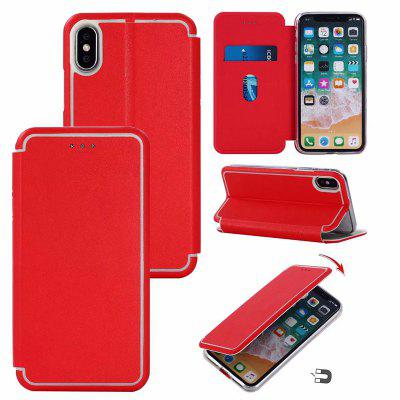 Cover Case für iPhone X Shell Typ Ultra Thin Paar Saugnadel
