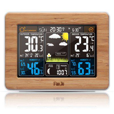FanJu FJ3365 Weather Station Color Forecast only $23.89 with coupon