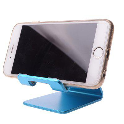 Aluminum Alloy Stand For  Phones and Tablets Unibody DesignStands &amp; Holders<br>Aluminum Alloy Stand For  Phones and Tablets Unibody Design<br><br>Package Contents: 1x Aluminum Alloy Stand<br>Package size (L x W x H): 25.00 x 15.00 x 4.00 cm / 9.84 x 5.91 x 1.57 inches<br>Package weight: 0.1400 kg<br>Product weight: 0.1020 kg