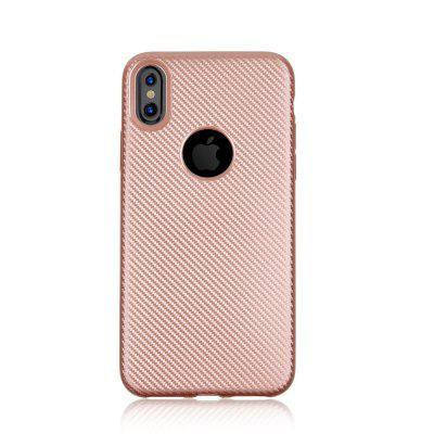 Soft Carbon Fiber Phone Case for iPhone XiPhone Cases/Covers<br>Soft Carbon Fiber Phone Case for iPhone X<br><br>Compatible for Apple: iPhone X<br>Features: Anti-knock<br>Material: TPU<br>Package Contents: 1 x Phone Case<br>Package size (L x W x H): 15.00 x 7.00 x 1.00 cm / 5.91 x 2.76 x 0.39 inches<br>Package weight: 0.0200 kg<br>Style: Cool