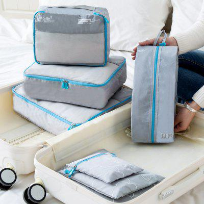Waterproof Portable Travel Storage Bag Set with 7-Packages