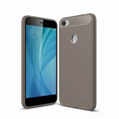 For Xiaomi Redmi Note 5A Case Cover Carbon Fiber Luxury Silicone Soft Texture Back Phone Cases