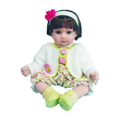 16 Inch Model Doll Girl Toy para bebê Early Education