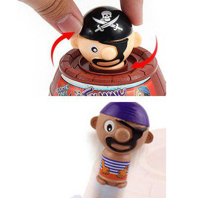 Trumpet - Insert Sword Cask Tricky Pirate BarrelClassic Toys<br>Trumpet - Insert Sword Cask Tricky Pirate Barrel<br><br>Appliable Crowd: Unisex<br>Materials: ABS<br>Nature: Other<br>Package Contents: 1 x Insert sword bucket<br>Package size: 8.00 x 11.00 x 5.00 cm / 3.15 x 4.33 x 1.97 inches<br>Package weight: 0.0300 kg