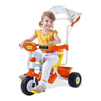 Kid's Tricycle With Cover Music Triple Wheel Bike Kids Toy