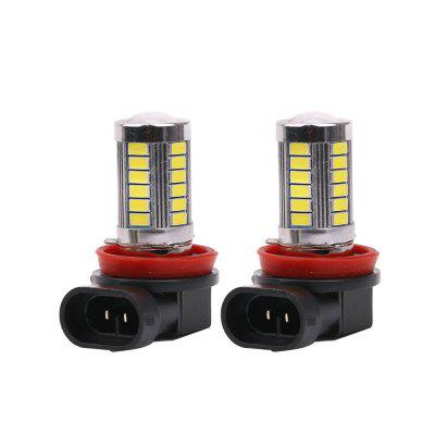 2PCS H8 H9 H11 Foglight Fitted for 2000-2012 Year VW Tiguan Audi A3 A4 Skoda Octavia Opel Corsa