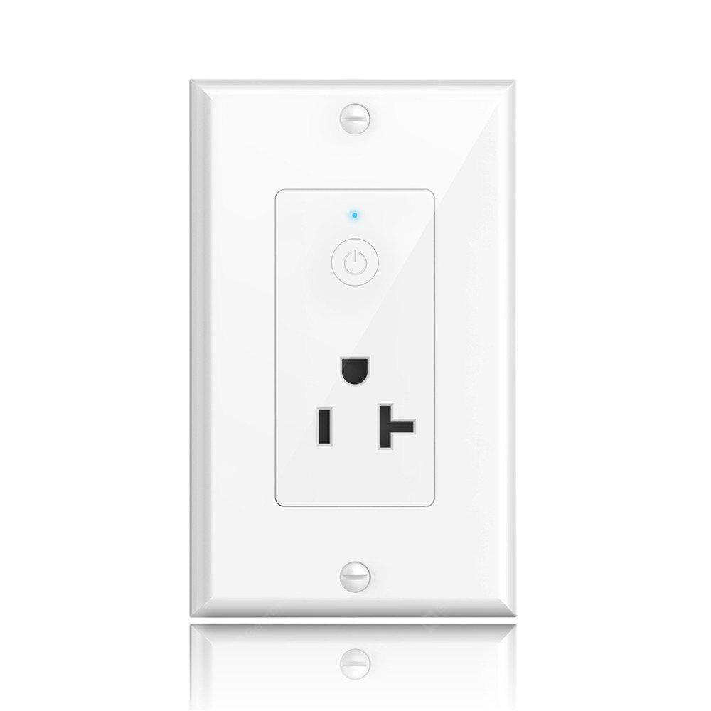 Oittm Smart Wall Outlet Remote Control Lights and Appliances Timer ...