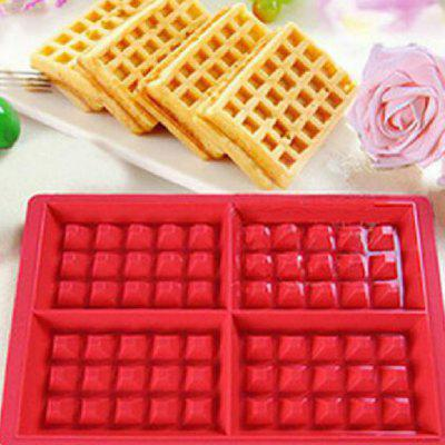Waffle Mould Silicone Oven Cookie Cake Cooking Tools Kitchen  Supplies