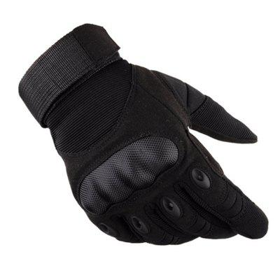 High Quality Pair of Male Full-finger Shockproof Tactical Sports Gloves