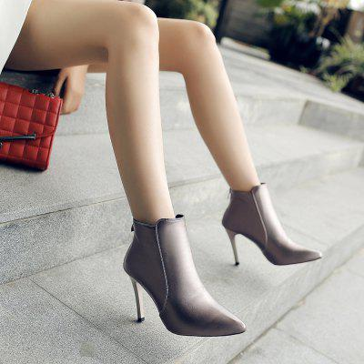 New Fashion Boots  Zipper Thin High-Heeled ShoesWomens Pumps<br>New Fashion Boots  Zipper Thin High-Heeled Shoes<br><br>Available Size: 34----40<br>Heel Type: Stiletto Heel<br>Occasion: Office &amp; Career<br>Package Contents: 1xShoes(pair)<br>Pumps Type: Basic<br>Season: Winter, Spring/Fall, Summer<br>Toe Shape: Pointed Toe<br>Toe Style: Closed Toe<br>Upper Material: PU<br>Weight: 2.4024kg
