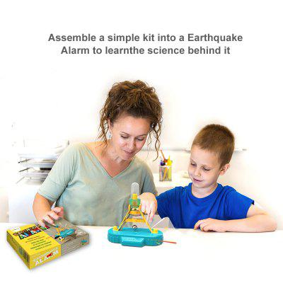 ODEV Educational STEM Kit Seismic Alarm ApparatusScience &amp; Discovery Toys<br>ODEV Educational STEM Kit Seismic Alarm Apparatus<br><br>Completeness: Finished Goods<br>Gender: Unisex<br>Materials: PVC<br>Package Contents: 1 x battery holder,1 x base component,1 x LED light,2 x LED light wick,1 x electrically conductive components,1 x lower cross beam,1 x support,1 x column buckle,1 x bulb stopper,1 x metal wire,1 x met<br>Package size: 22.00 x 15.00 x 4.50 cm / 8.66 x 5.91 x 1.77 inches<br>Package weight: 0.2500 kg<br>Stem From: Other<br>Theme: Science